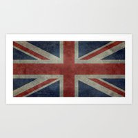 Union Jack (1:2 Version) Art Print