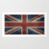 Union Jack (1:2 Version) Art Print