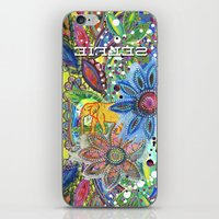 Abstract Intense Bright iPhone & iPod Skin