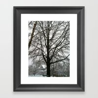 Virginia Winter Framed Art Print