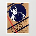 Digger crumble poster Canvas Print