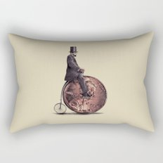 Penny Farthing  Rectangular Pillow