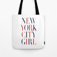 New York City Girl Tote Bag