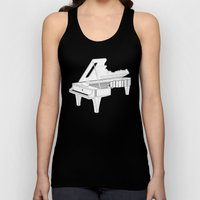 Music Is The Key. Unisex Tank Top