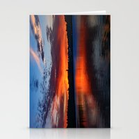 Sunset Wings Stationery Cards