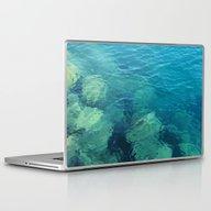Beau Aqua Laptop & iPad Skin