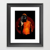 Keep Your Eye On The Prize Framed Art Print