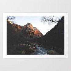 Zion 3. Art Print