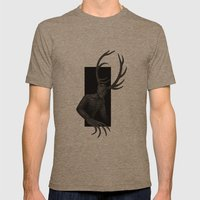Wendigo Mens Fitted Tee Tri-Coffee SMALL