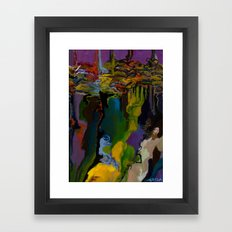 Chicot detail  Framed Art Print