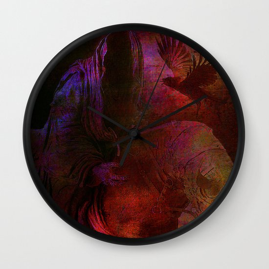 The messenger Wall Clock
