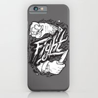 iPhone & iPod Case featuring The Fight by Fightstacy