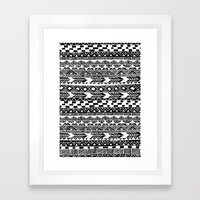 Tribal Tuesday Framed Art Print