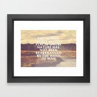 The Human Spirit Framed Art Print