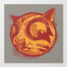 Red cat Rocka Rolla Canvas Print