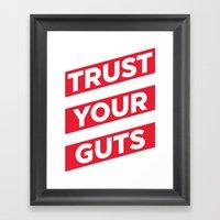 Trust Framed Art Print