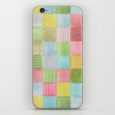 Watercolor Quilt iPhone & iPod Skin