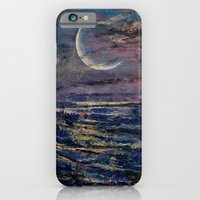 iPhone & iPod Case featuring Moon by Michael Creese