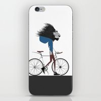 Hipster Lion And His Bic… iPhone & iPod Skin