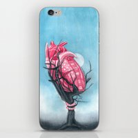 Heart's Apart iPhone & iPod Skin