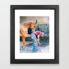 Farrier Framed Art Print