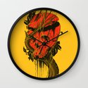 Nameless Hero Wall Clock