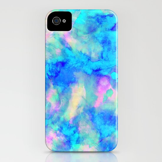 Electrify Ice Blue iPhone & iPod Case