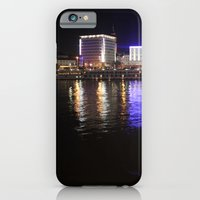 iPhone & iPod Case featuring Linz Nights by AntWoman