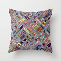 Multi-color Melody Throw Pillow