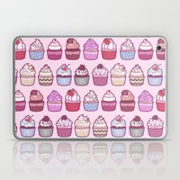 Cupcakes Galore Laptop & iPad Skin