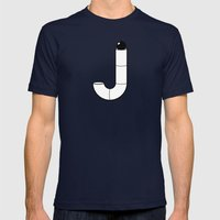 J like J Mens Fitted Tee Navy SMALL