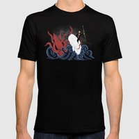 Dangerous Waters Mens Fitted Tee Black SMALL