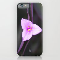 iPhone & iPod Case featuring Purple Vein Blossom by TS Photography