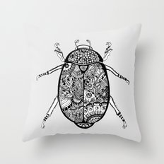 Stiffness Throw Pillow