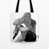 Tired And Shadowed Tote Bag