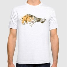 A Self Containing Food Chain Mens Fitted Tee Ash Grey SMALL