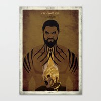 Game Of  Thrones - A Gol… Canvas Print