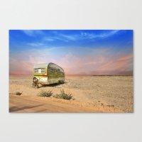 Trailer Camp Canvas Print