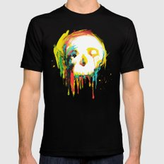 Happy/Grim Mens Fitted Tee Black SMALL