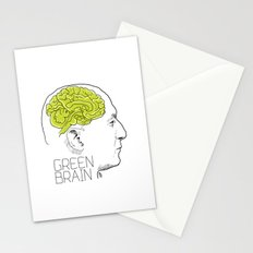 GREEN BRAIN Stationery Cards