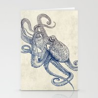 Octo Flow Stationery Cards