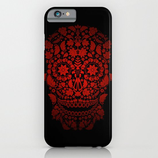 Day of the Dead Skull No.19 iPhone & iPod Case