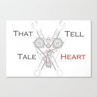 That Tell-Tale Heart Canvas Print