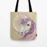 Unicorn Moon Tote Bag
