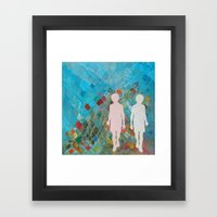 Mountain Brothers Framed Art Print