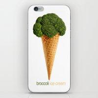 broccoli ice cream iPhone & iPod Skin