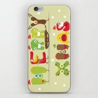 Merry xmas iPhone & iPod Skin