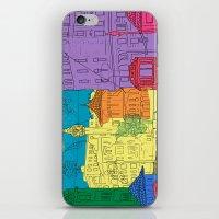 old city iPhone & iPod Skin