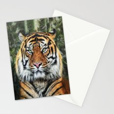 panthera tigris II Stationery Cards