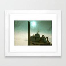 Mining  Framed Art Print